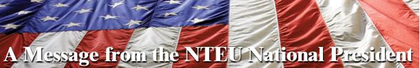Message from NTEU