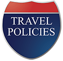 Highway sign entitled Travel Policies